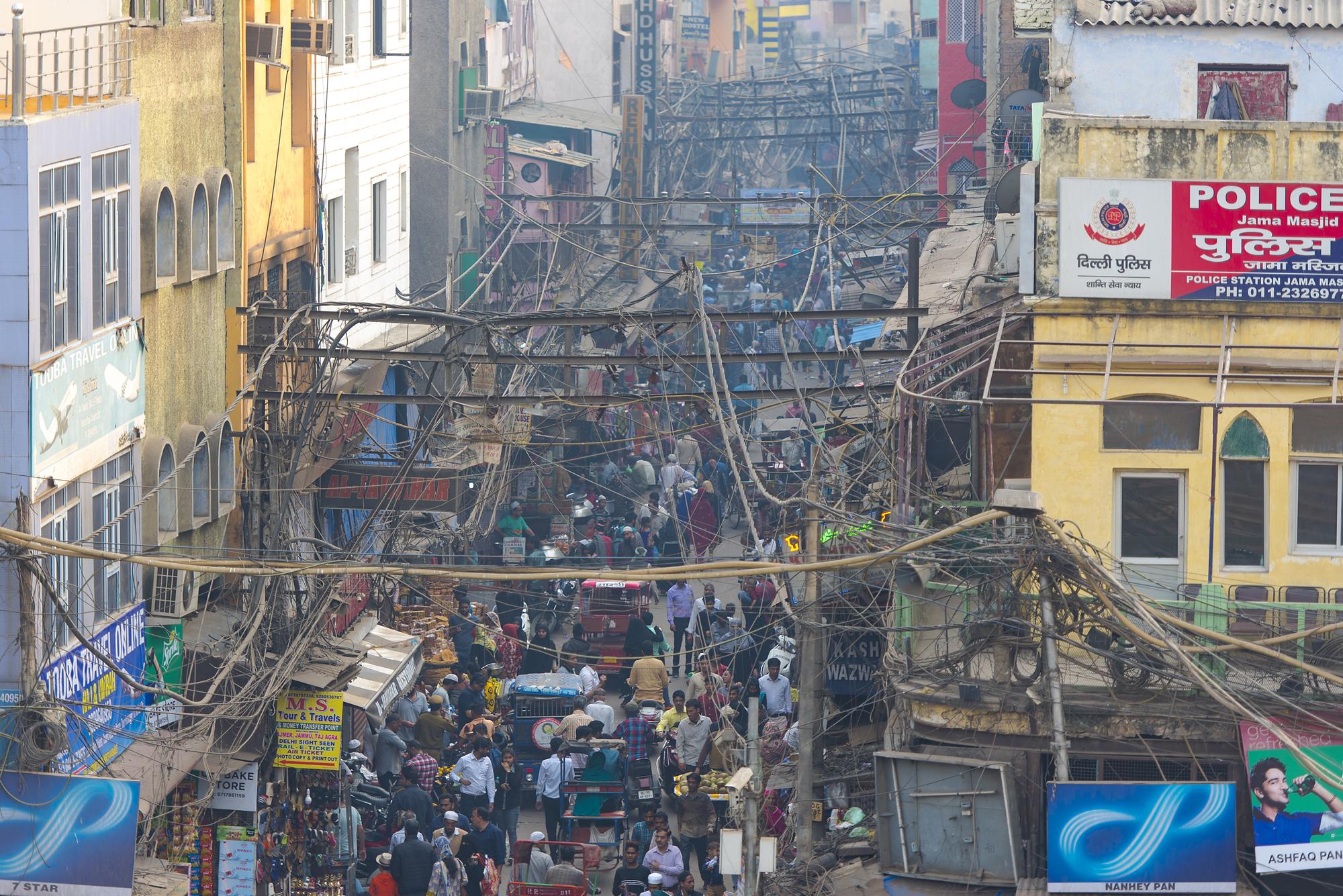 Ciudad de Nueva Delhi, India