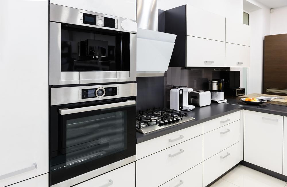 Electrodoméstocos de una cocina reformada