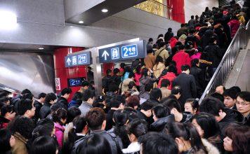 Metro en Pekín, China