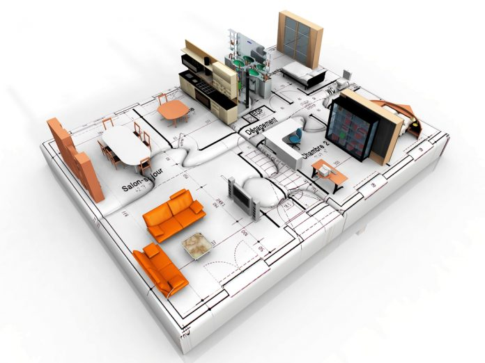 Concepto de proyecto de interiorismo