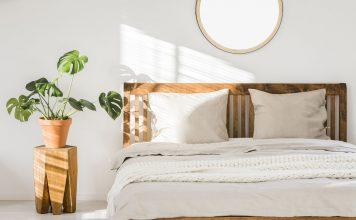 Dormitorio de matrimonio, cabecero y cama