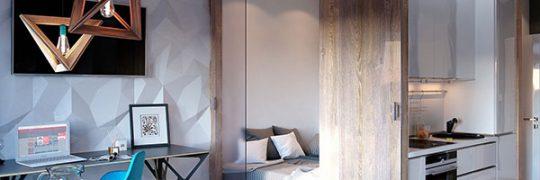 Diseño interior de casa de 30 metros cuadrados