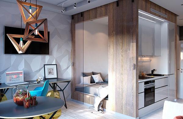 Vivir en un piso de 30 m2 for Pisos de 30 metros cuadrados ikea