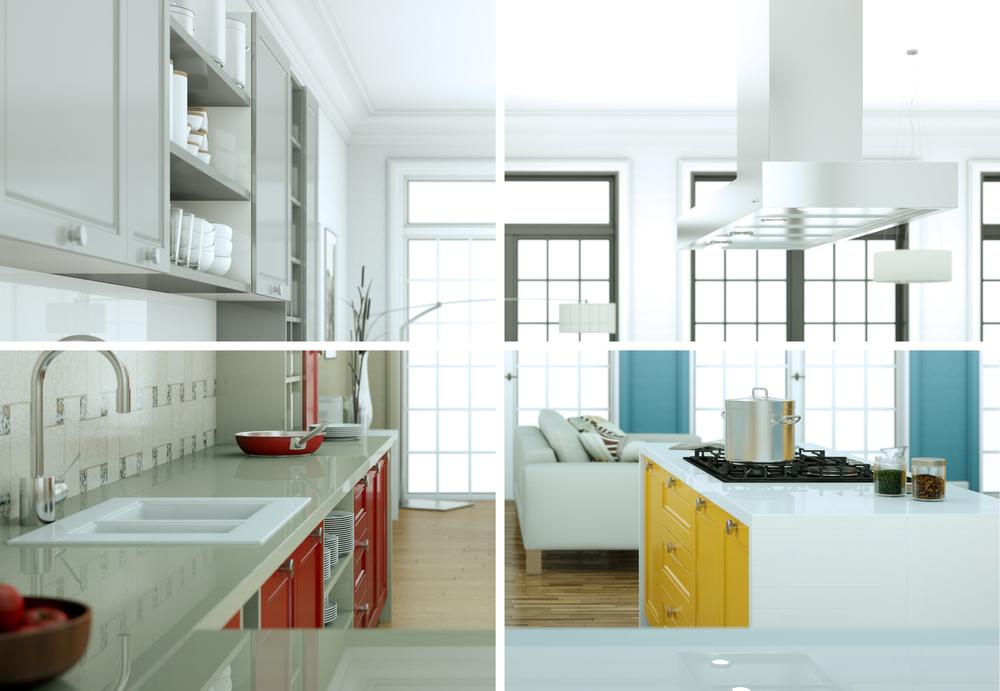 Alternativas de diseño de una cocina