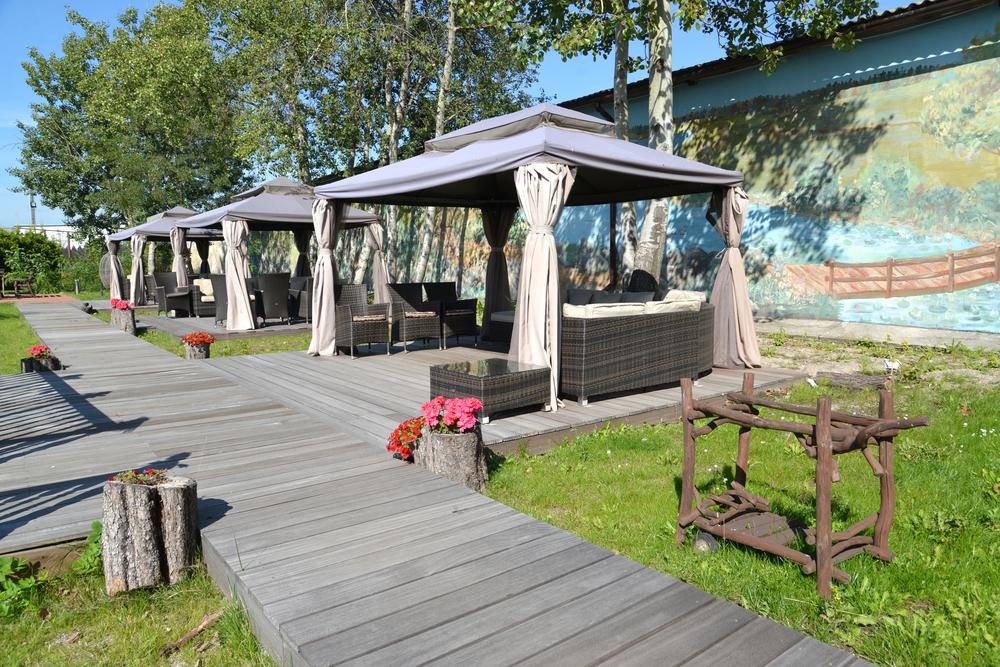 Construcci n en madera de cenadores p rgolas y porches - Construccion de pergolas de madera ...