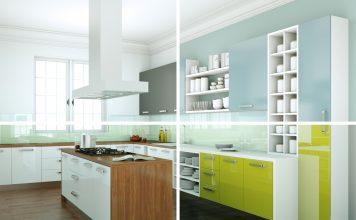 Diseño de cocinas con materiales de lujo